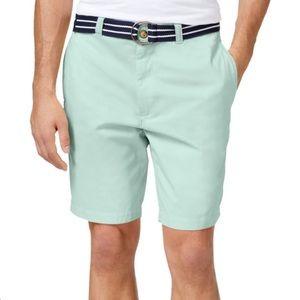 """Calvin Klein Mens SZ 36 Seafoam Shorts 11"""" Inseam"""